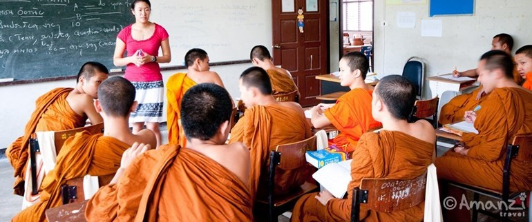 Chiang Mai, Thailand, Chiang Mai University for Monks