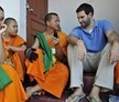 Chiang Mai, Thailand, Teaching Novice Buddhist Monks